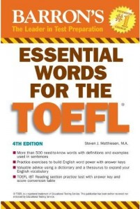 Essential Words for TOEFL