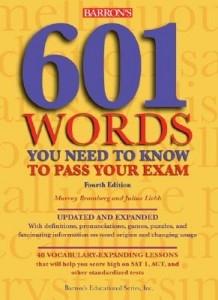کتاب یادگیری لغات 601