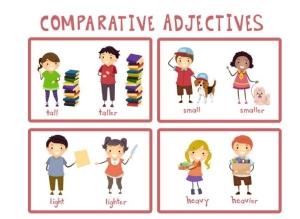 صفات تفضیلی در زبان انگلیسی