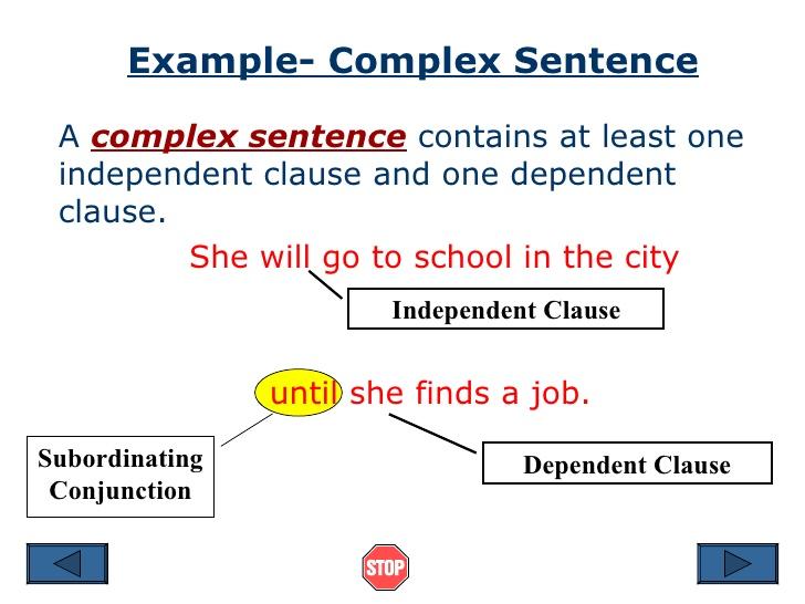 ساختار جمله در زبان انگلیسی