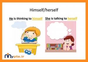 ضمایر انعکاسی در زبان انگلیسی